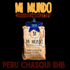Mi Mundo Coffee Roaster, Peru Chasqui SHB