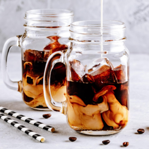Mix them with your into favorite iced coffee recipe and enjoy1