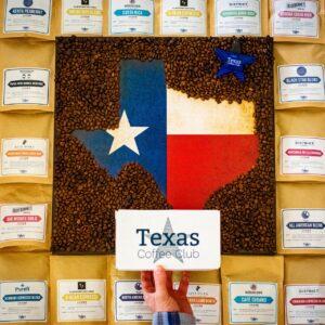 Texas coffee samplers